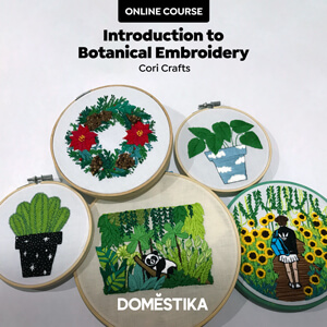 Introduction to Botanical Embroidery