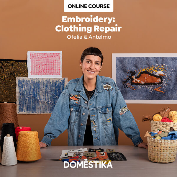 Embroidery: Clothing Repair