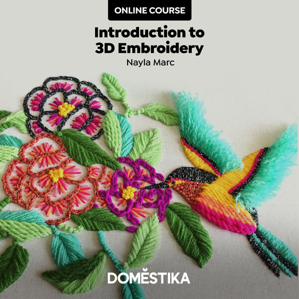 Introduction to 3D Embroidery