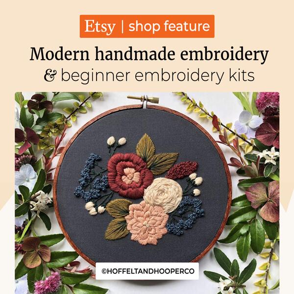 Modern Handmade Embroidery Kits