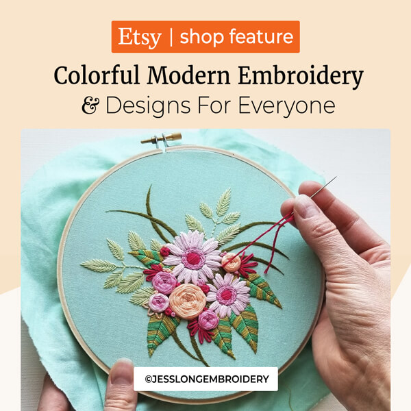 Colorful Modern Embroidery Designs for Everyone