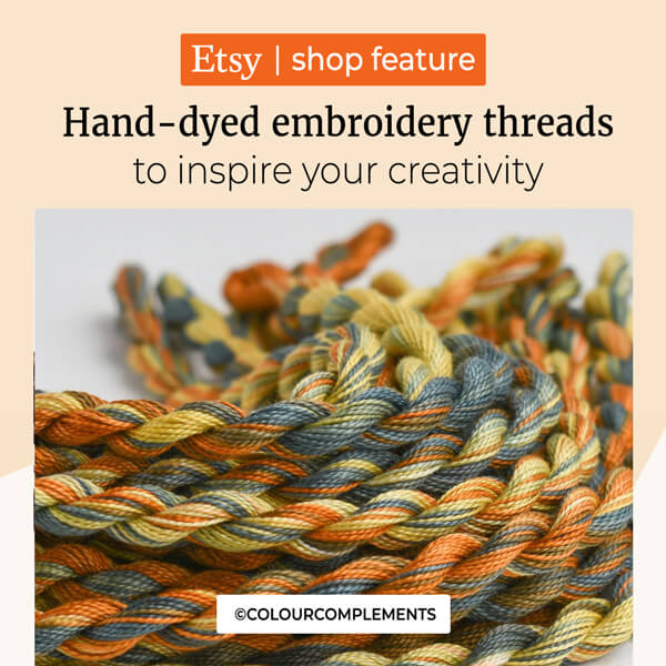 Hand Dyed Embroidery Threads