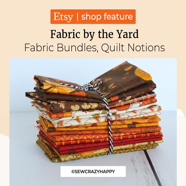 Fabric by the Yard, Fabric Bundles, Quilt Notions