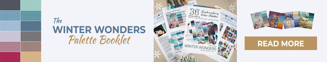 The Winter Wonders Palette Booklet