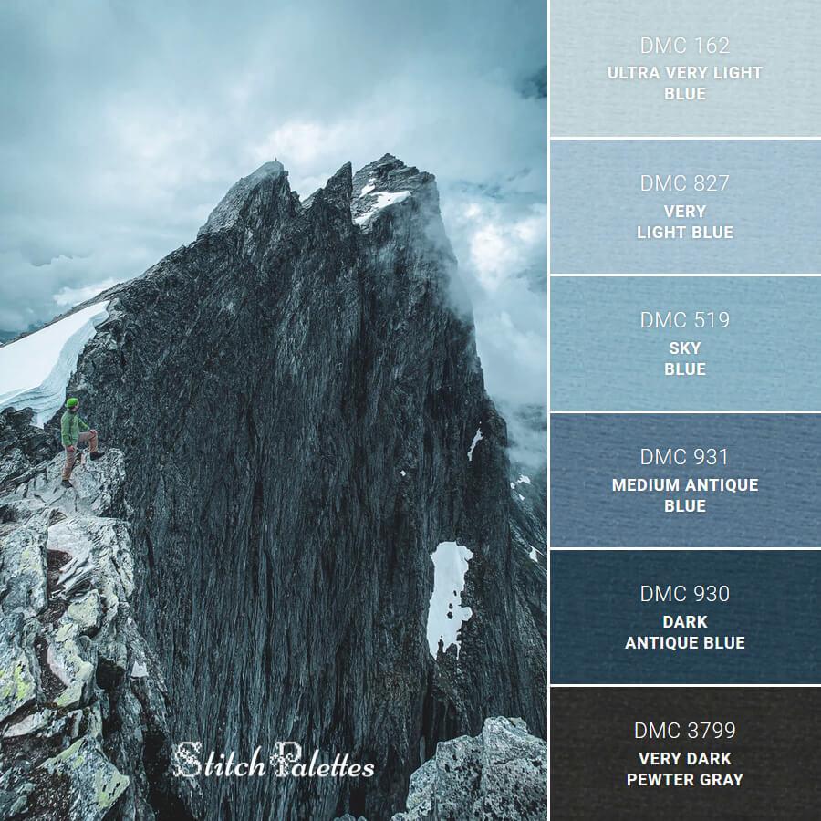 Stitch Palette SPA0016: Life On The Edge
