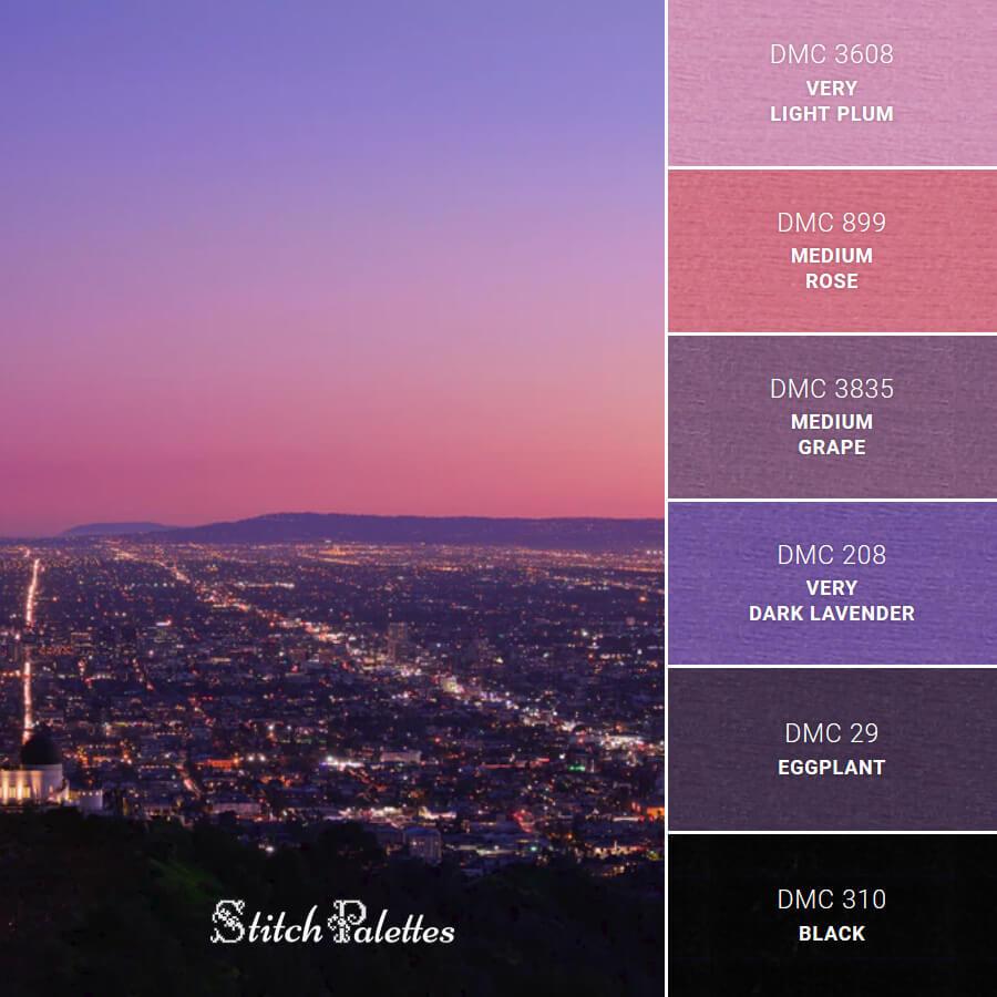 Stitch Palette SPA0019: City Lights