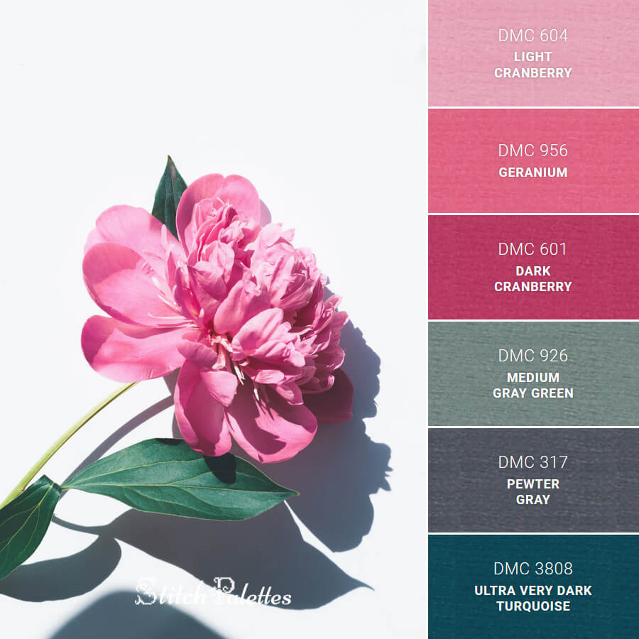 Stitch Palette SPA0021: Pink Petals