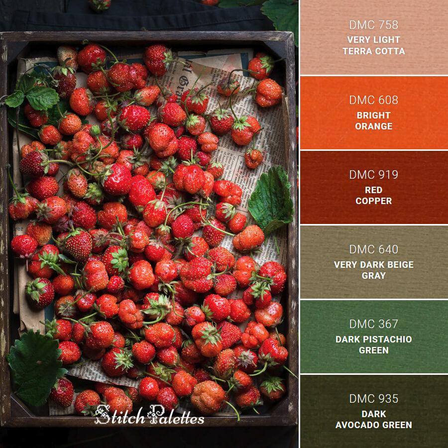 Stitch Palette SPA0027: Box Of Fresh Reds