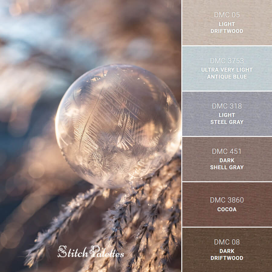 Stitch Palette SPA0034: Frozen In Time