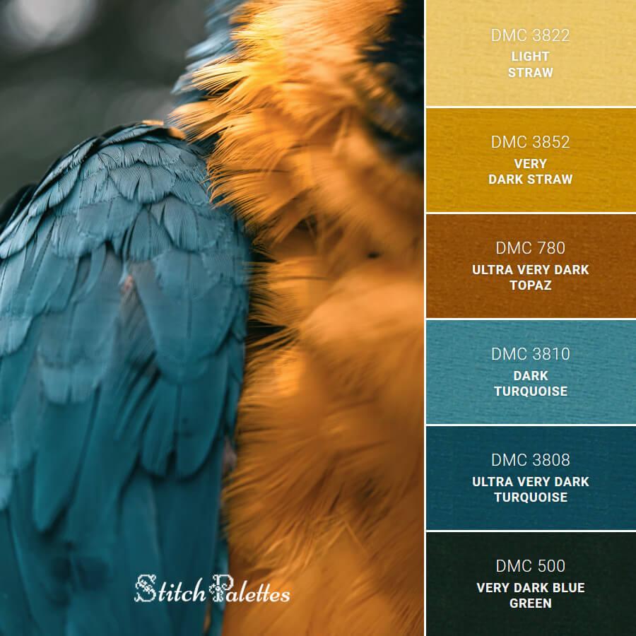Stitch Palette SPA0039: Parrot Gaze