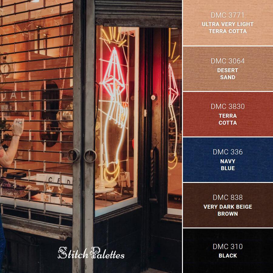 Stitch Palette SPA0048: Shady Shades