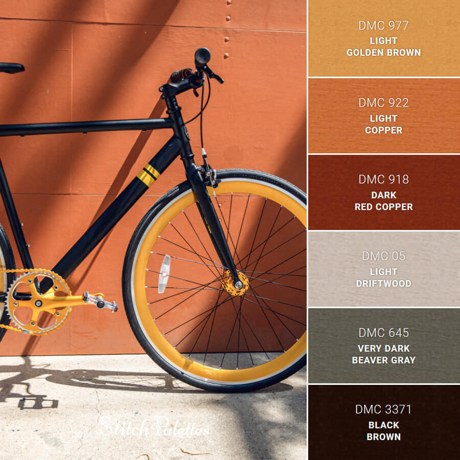 Stitch Palette SPA0082: Bicycle Of Contrasts