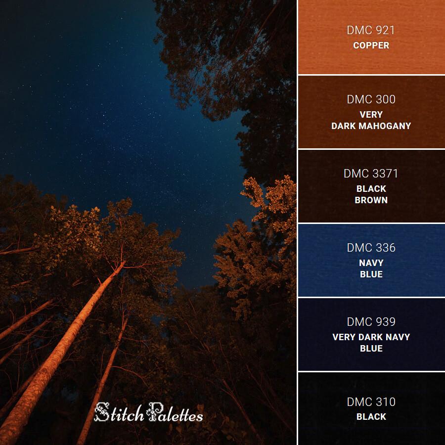 Stitch Palette SPA0085: Night Sky