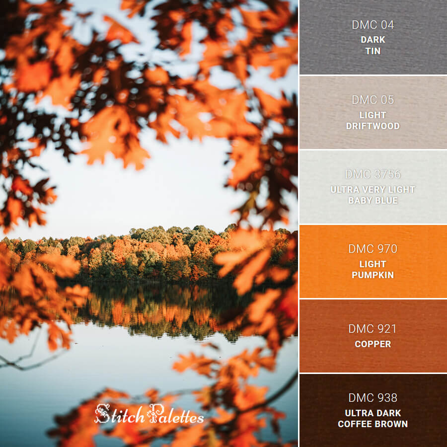 Stitch Palette SPA0088: Autumn Leaves