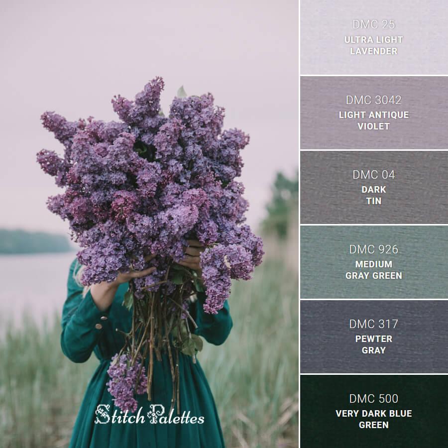 Lustrous Lilac
