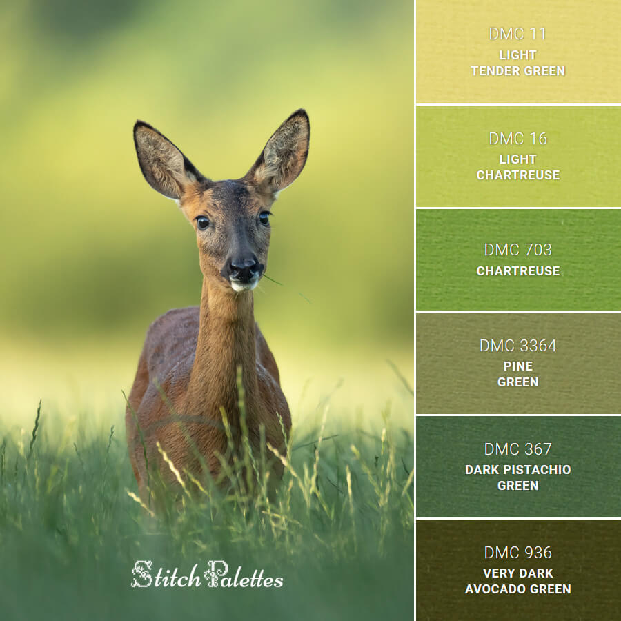 Stitch Palette SPA0103: Oh My Deer