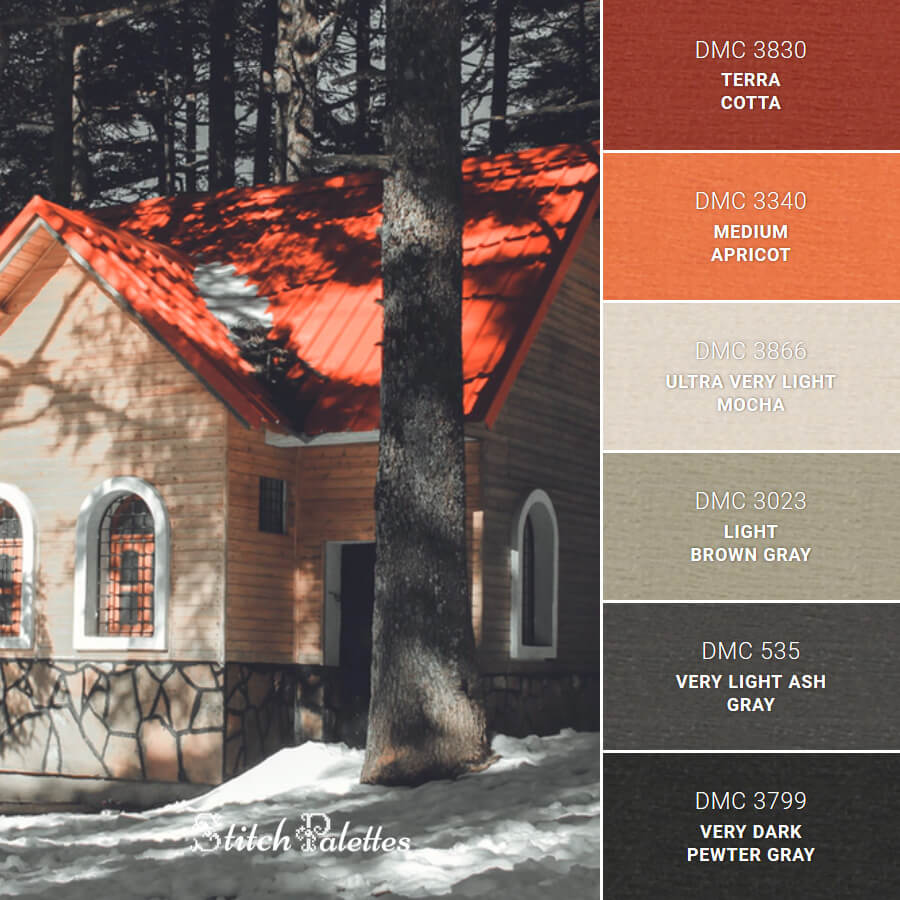 Stitch Palette SPA0132: A Warm Welcome