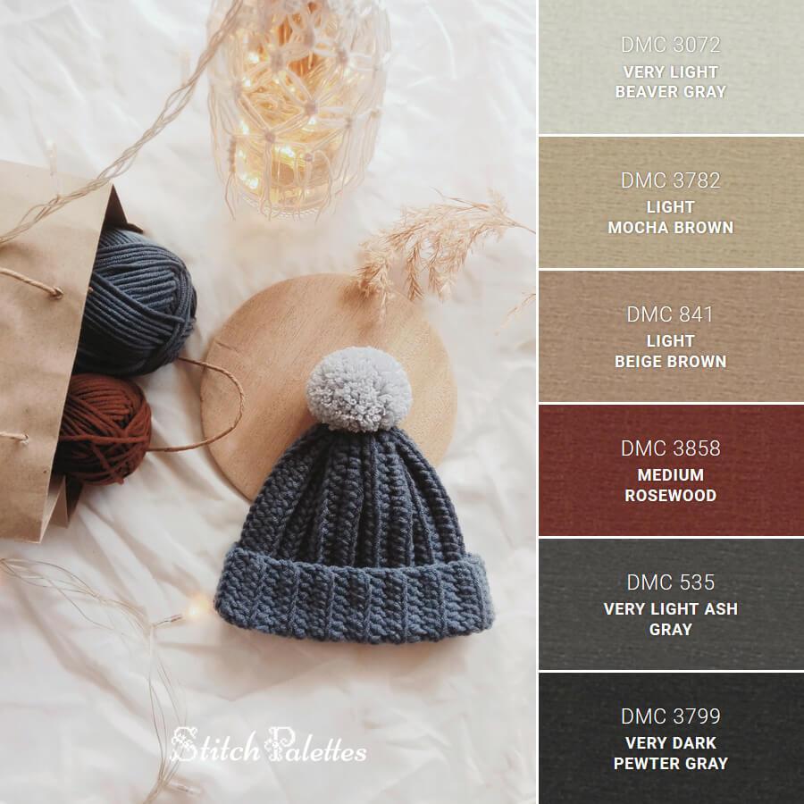 Stitch Palette SPA0150: Winter Beige Tones