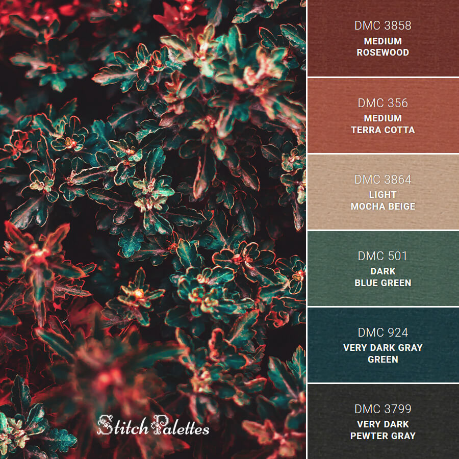 Stitch Palette SPA0171: Berry Bush