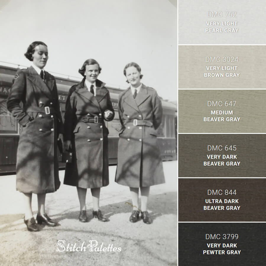 Stitch Palette SPA0179: 1935