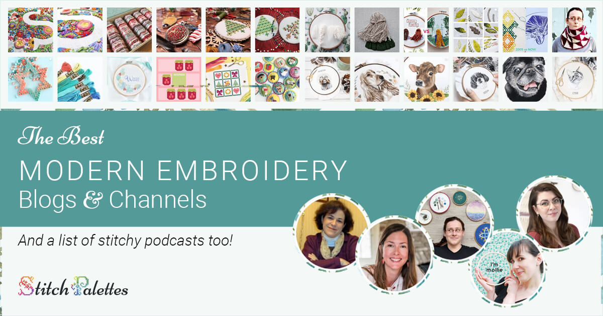 The Best Modern Embroidery Blogs & Channels