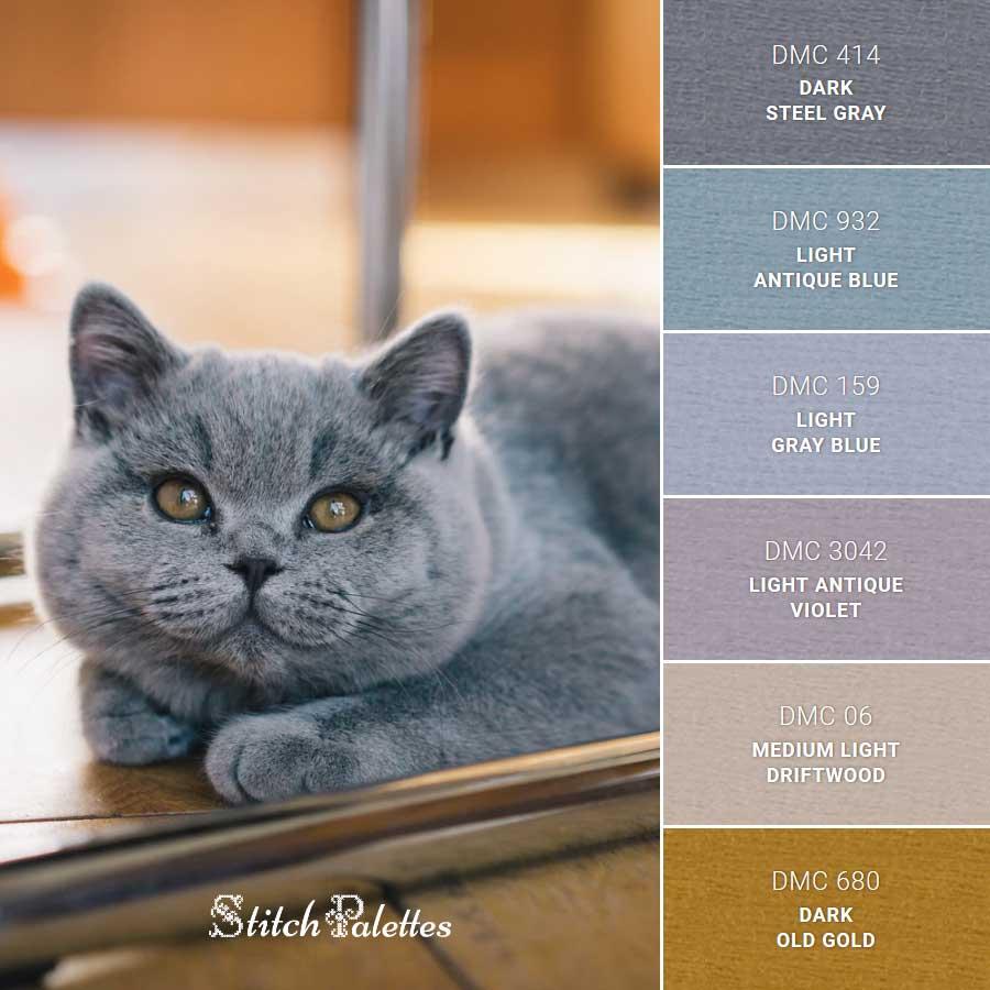 Stitch Palette SPA0253: Russian Blue