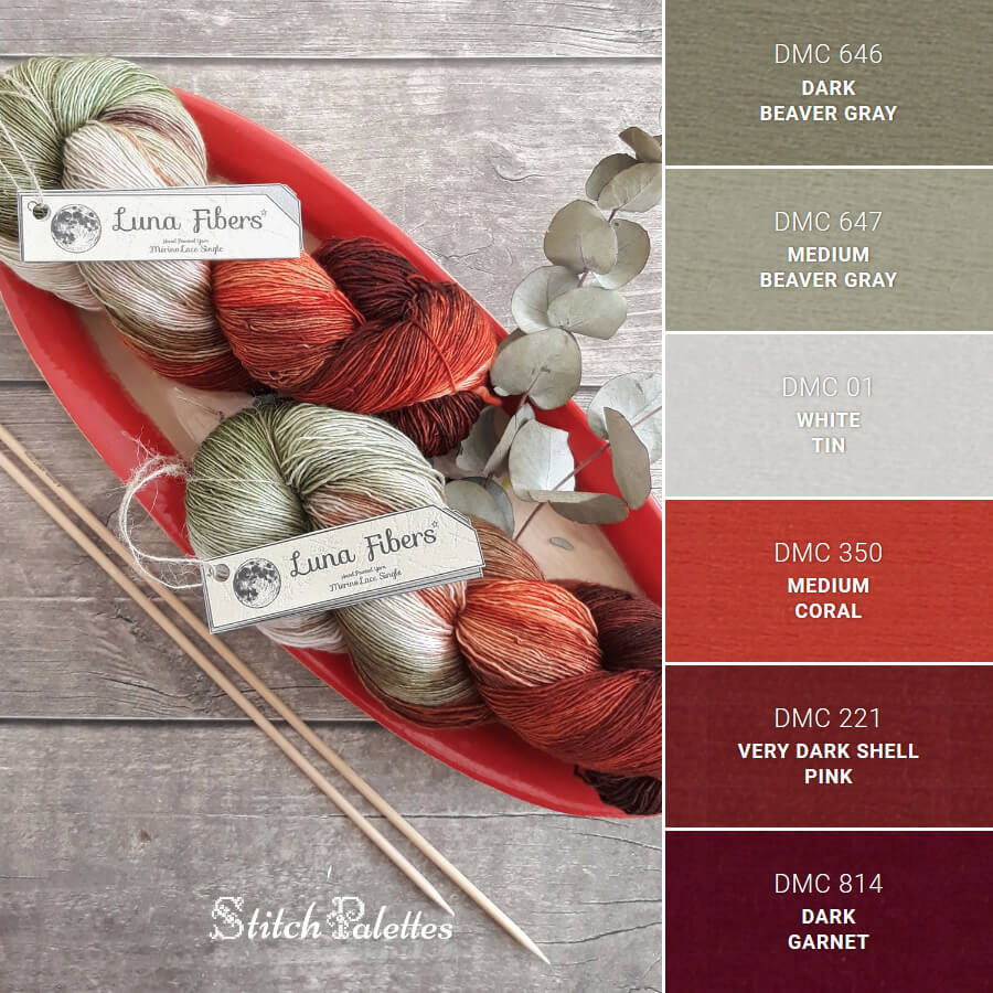 Stitch Palette SPA0281: Yearning For Yarn