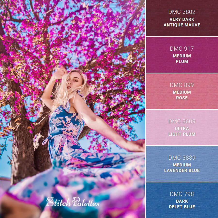 Stitch Palette SPA0295: Summer Dance