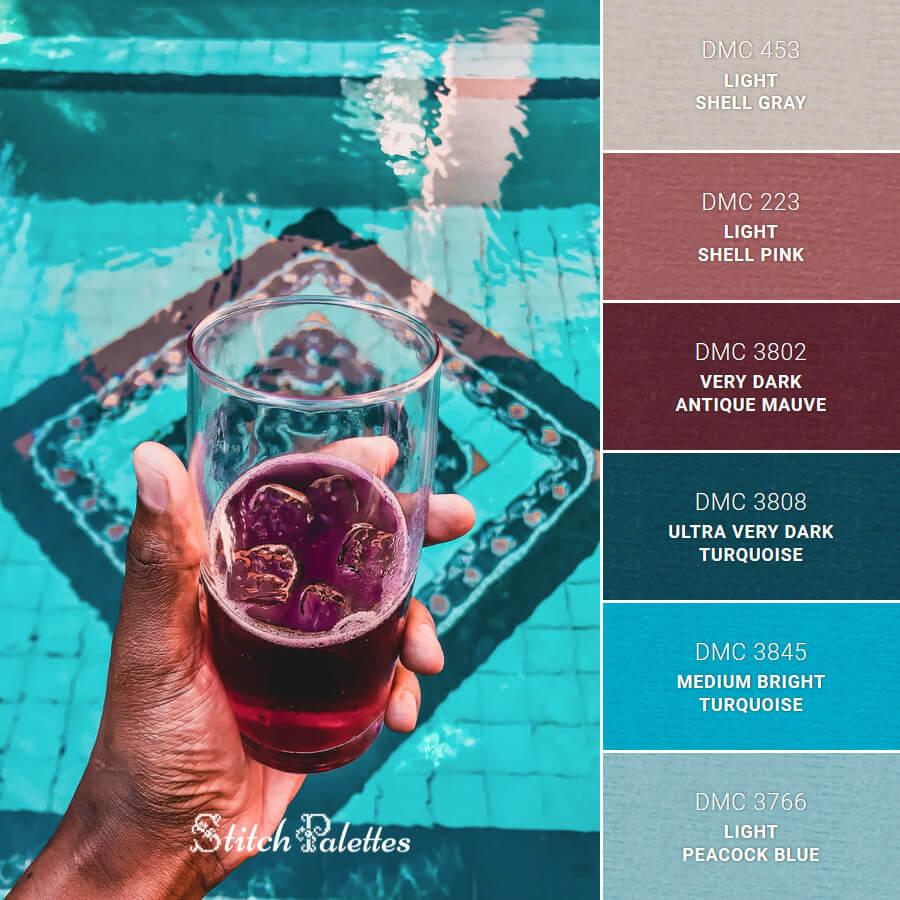 Stitch Palette SPA0303: Summer Cools