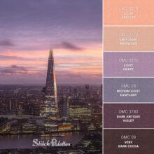 Stitch Palette SPA0305: London Above Ground