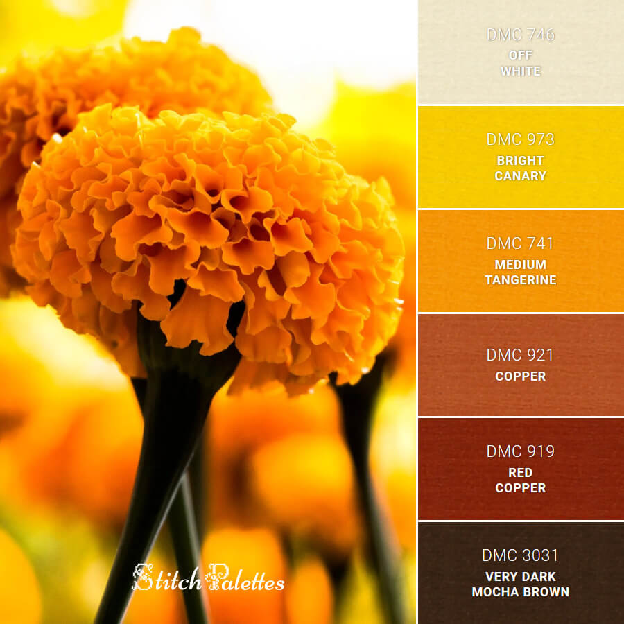 Stitch Palette SPA0306: Mellow Yellow