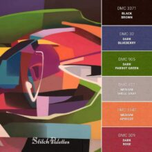 Stitch Palette SPA0309: Vibrant Abstracts