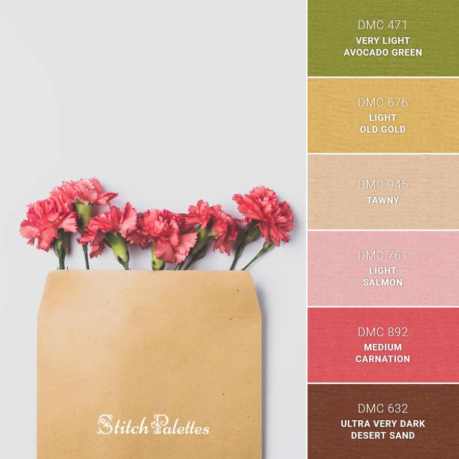 Stitch Palette SPA0321: Pink Carnation