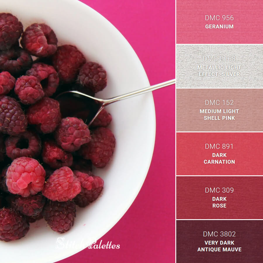 Stitch Palette SPA0322: Bowl Of Berries