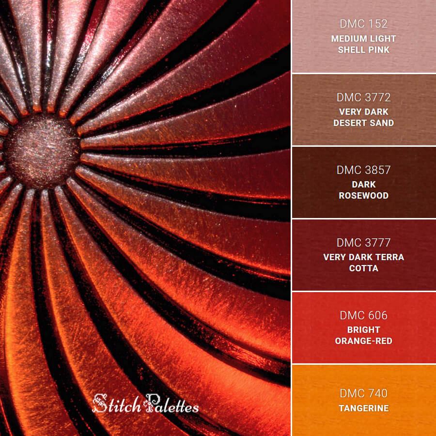 Stitch Palette SPA0329: Tequila Sunrise