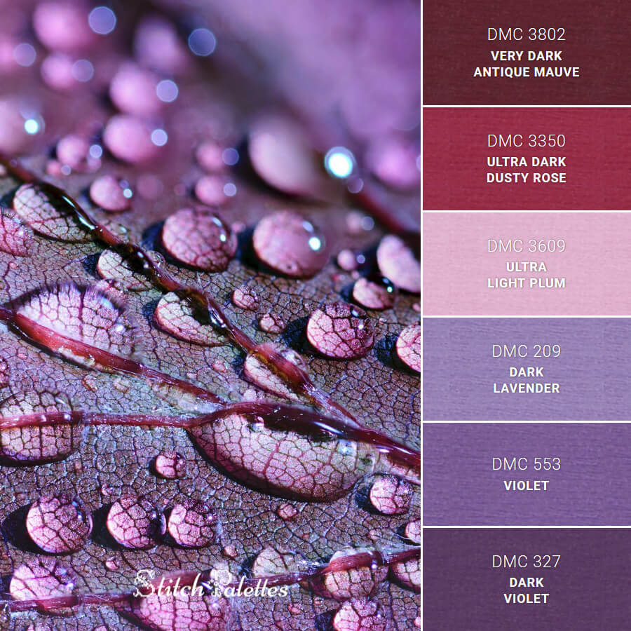 Stitch Palette SPA0337: Raindrops