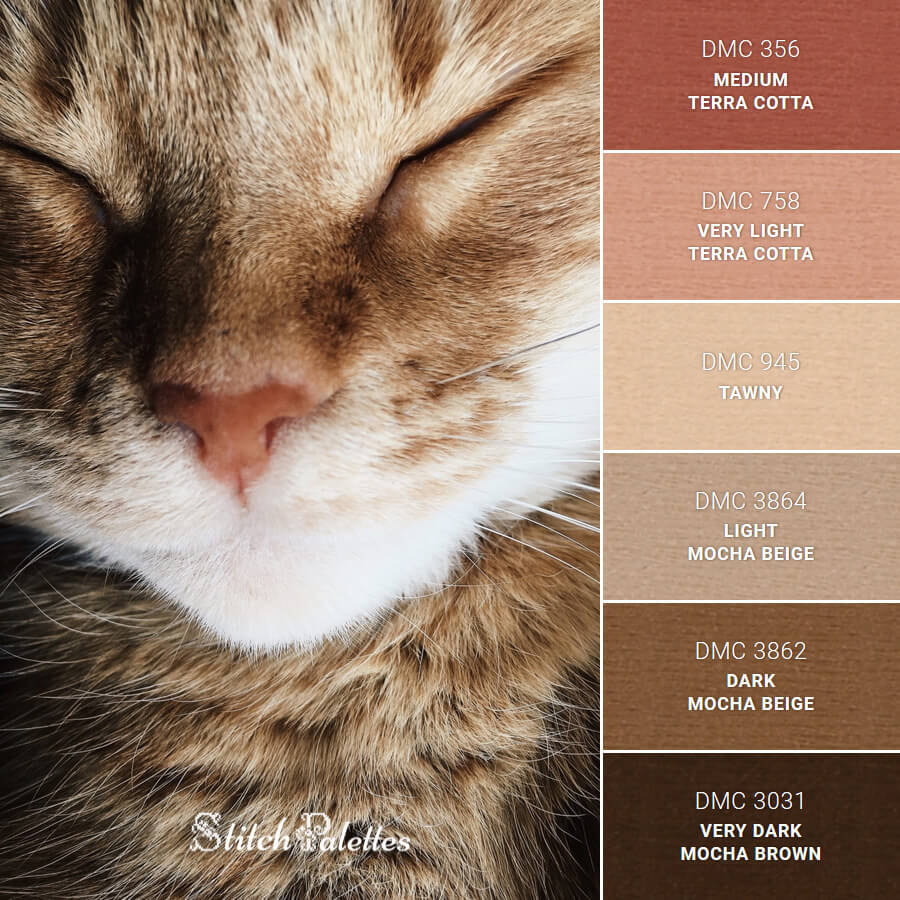 Stitch Palette SPA0341: Forty Winks Furball