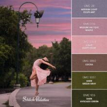 Stitch Palette SPA0343: Tiny Dancer
