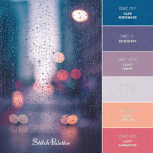 Stitch Palette SPA0347: Water Droplets