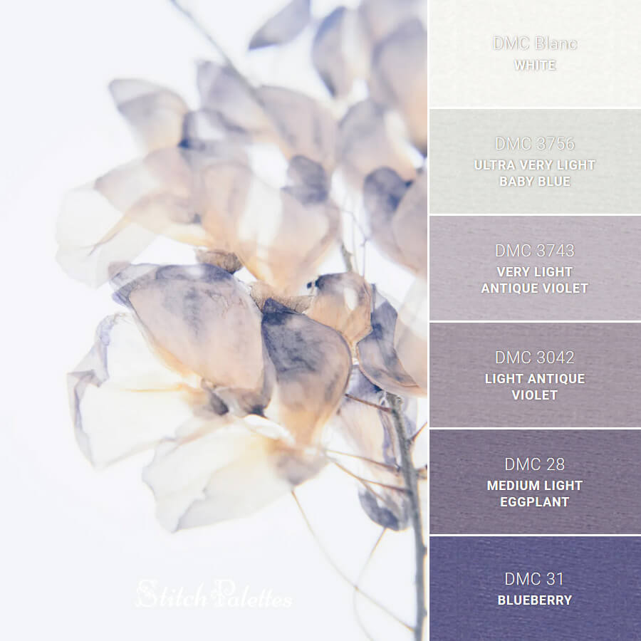 Stitch Palette SPA0360: White Petals
