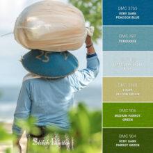 Stitch Palette SPA0377: Bali Blues