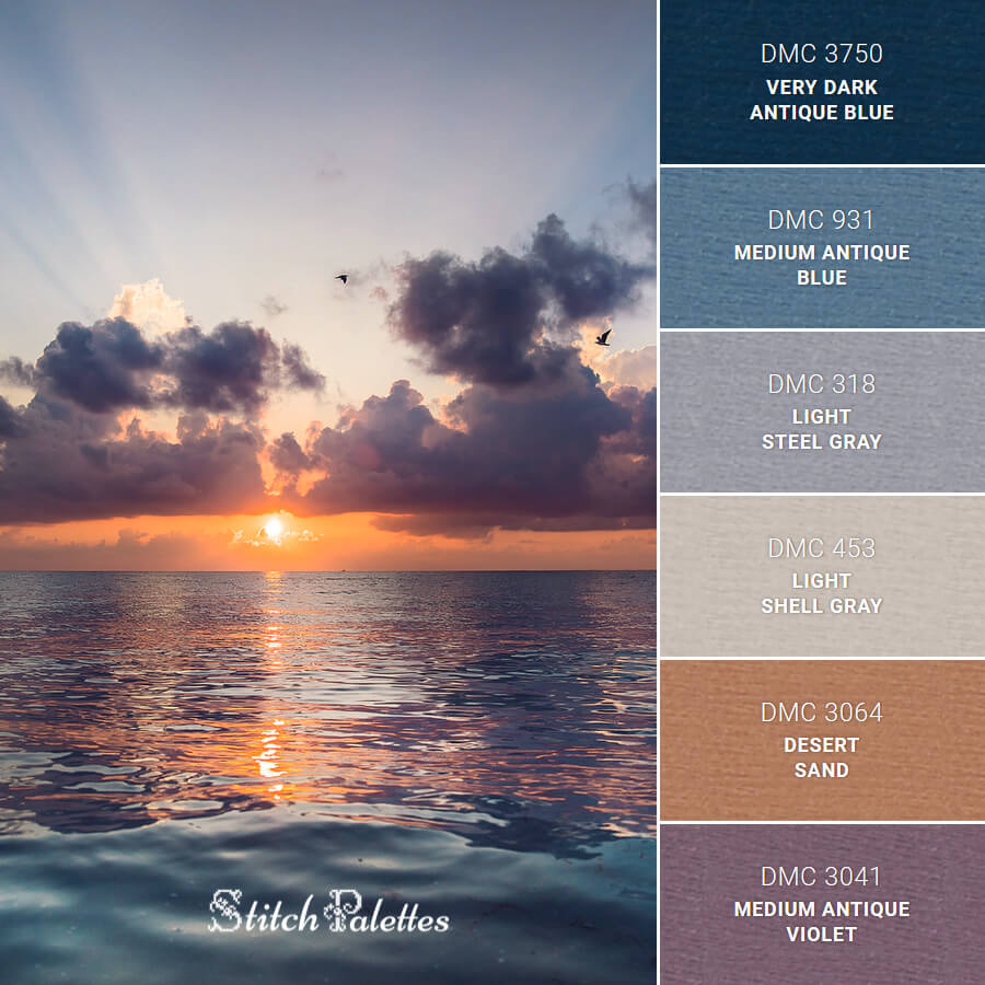 Stitch Palette SPA0378: Body Of Water