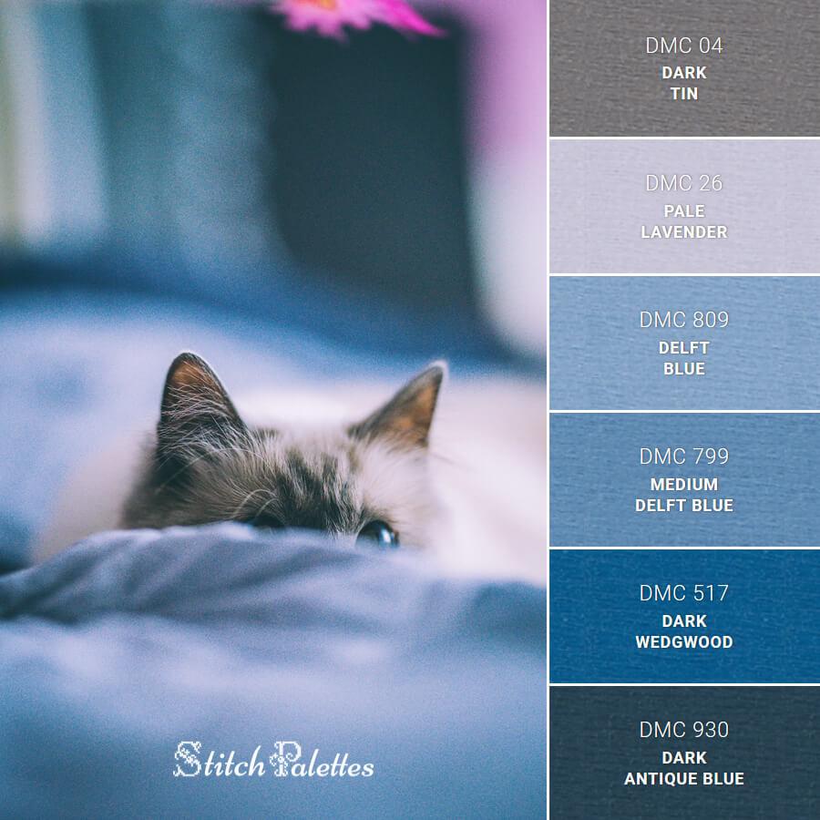 Stitch Palette SPA0417: Sapphire Eyes