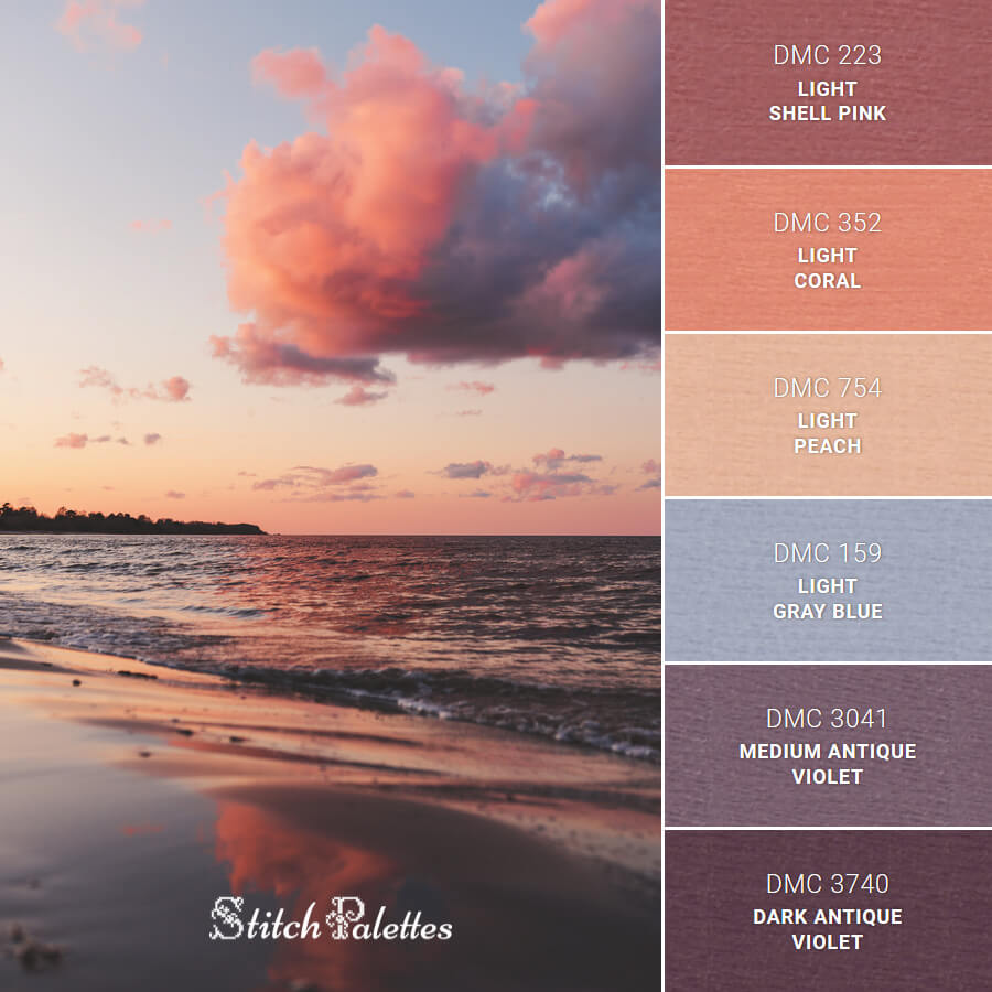 Stitch Palette SPA0423: Sea Waves