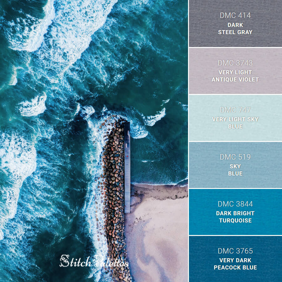 Stitch Palette SPA0432: A Storm In Denmark