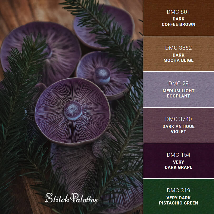 Stitch Palette SPA0433: Deep Purples