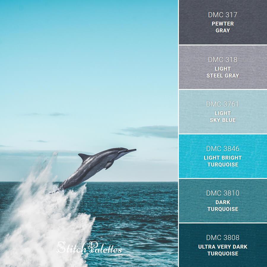 Dolphin On Sea