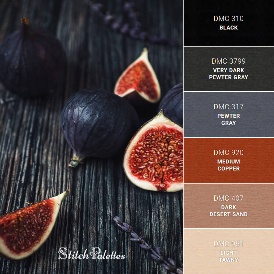 Stitch Palette SPA0469: Delicious Darks
