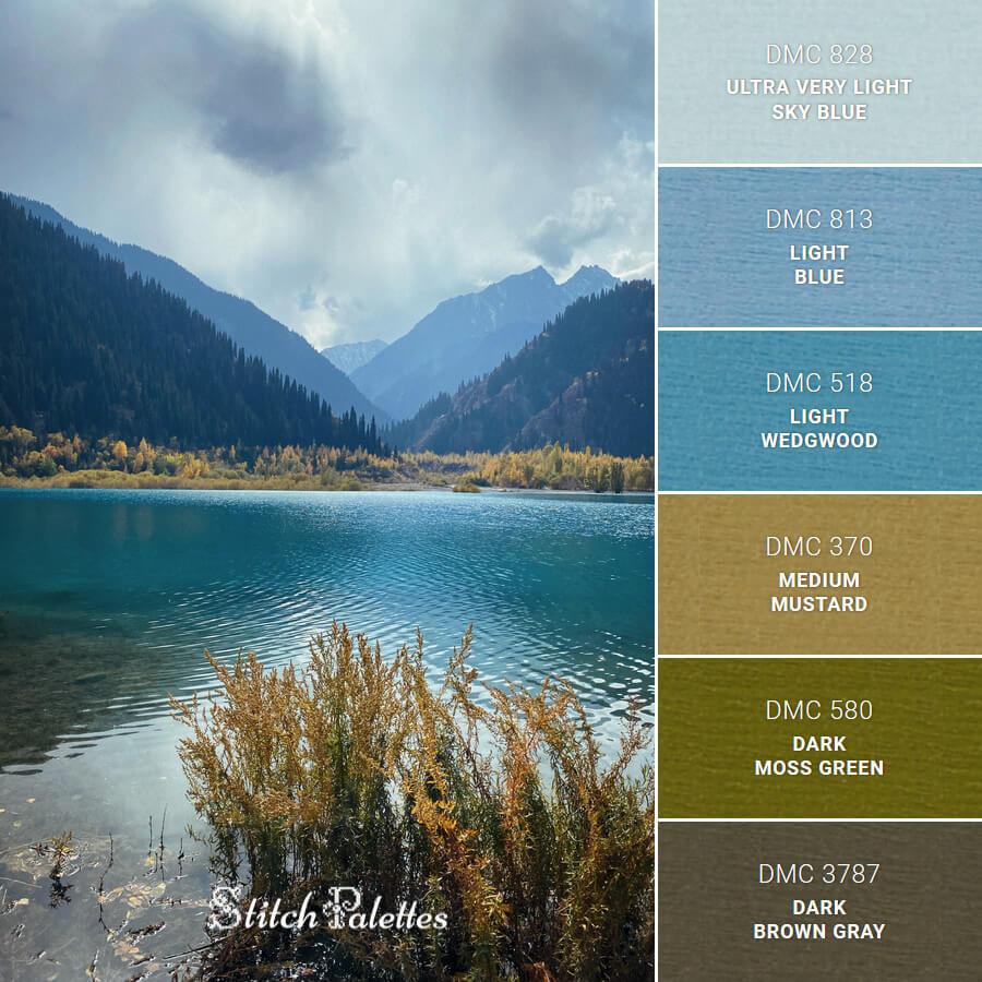 Stitch Palette SPA0471: Issyk Lake