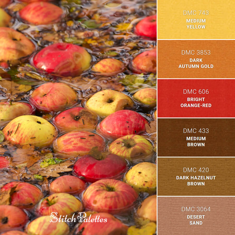 Stitch Palette SPA0480: Apples In Abundance